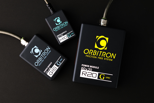 性能評価 オービトロン フリクションスリーシステム パワーモジュール GーSPEC