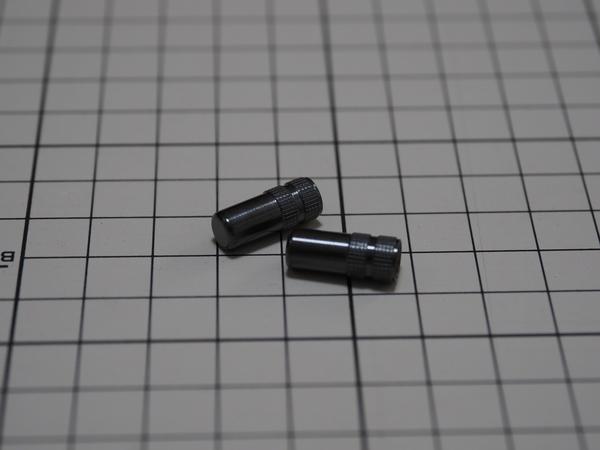 オービトロン チタンエアバルブキャップ 仏英式用 G-spec ダイヤモンドブラック発売開始!