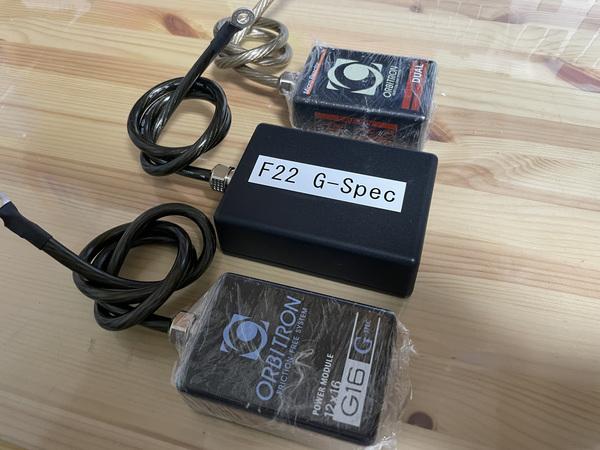 オービトロン パワーモジュールF22 G-SpecとマイクロリアクターQUAD