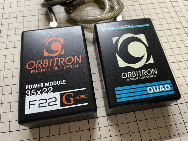 オービトロン製品の体験用の各種テスト品あります。