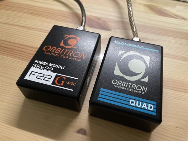 オービトロン マイクロリアクターQUADとパワーモジュールF22  G-Specが完成!