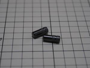 チタンエアバルブキャップ 仏英式用 ダイヤモンドブラック G-SPEC 2個入り
