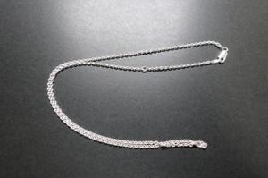 シルバーペンダント用チェーン あずき45-50cm