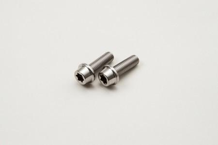 チタンボルト テーパーワッシャー M8×L25×P1.25(2本入り)